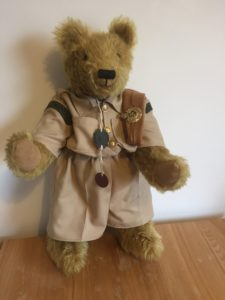 Large Bear - A Royal Engineer remembered. Special commission to remember a father in his WWII uniform.