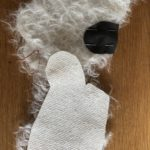 step two stitching each individual limb