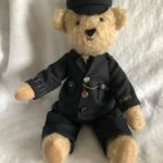 Bear in Memory of a grand father's police service