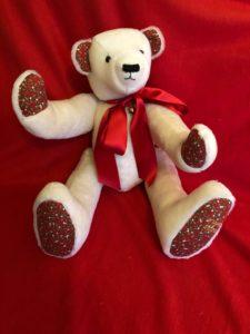 Very large Christmas Bear