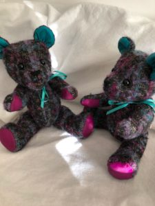 Soft Seated Bear approx 30cm tall