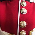 Genuine Buttons for Coldstream Guard uniform